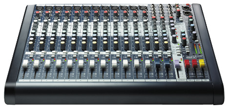 One of our mixing desks