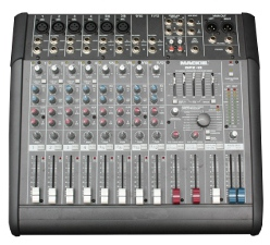 Our 12-channel mixing desk